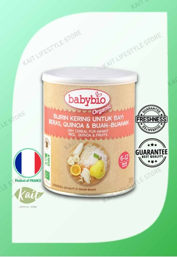 Kait Lifestyle BABYBIO Rice Quinoa Fruits Cereal (220g) 844ECESDA77CF7GS_1