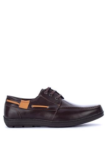 H2Ocean brown Savas Boat Shoes A9844SH5A8F3ADGS_1