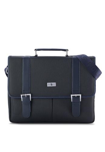 Swiss Polo blue Swiss Polo Satchel Bag SW912AC07PIYMY_1