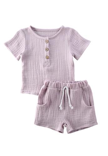 RAISING LITTLE purple Charli Outfit Set EEB61KAD746AE9GS_1