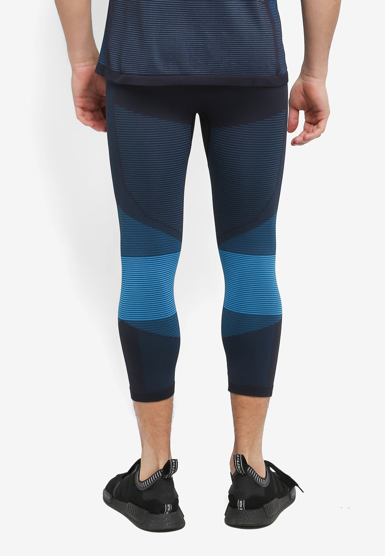 Motion Odlo Blue Black Ceramicool Pants 3 Jewel 4 ESWw4