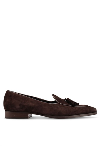 5df63b0e9f4a4 Buy MANGO Man Tassel Suede Loafers Online on ZALORA Singapore