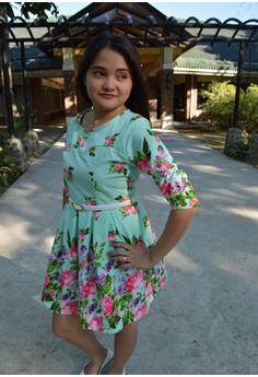ALANA FLORAL DRESS