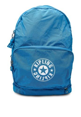 Kipling blue Classic Niman Fold Backpack 2B6B1AC68197A4GS_1