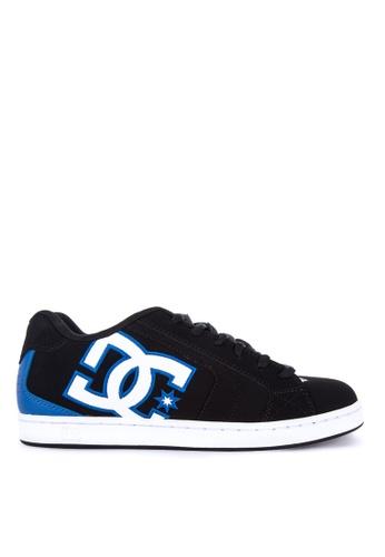 DC black Net Sneakers D30DESH2BF2E06GS_1