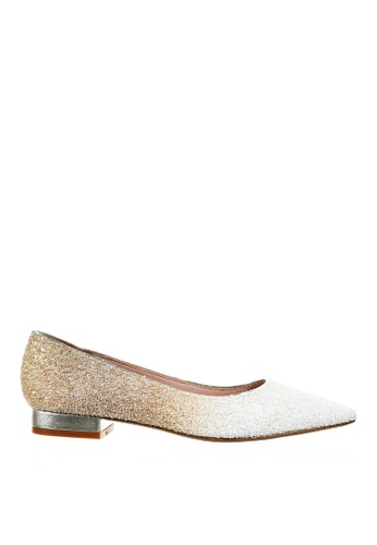 PRODUIT PARFAIT Glitter Pointed Toe Ballerina B3C45SH1798D39GS_1