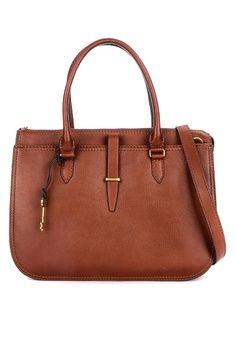 f6f6cf68a2 Fossil brown Ryder Large Satchel ZB7626200 F7C43AC2CFA5DBGS_1