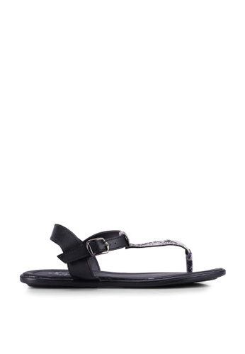 LC Waikiki black and multi Casual Sandals C1305SH2892347GS_1