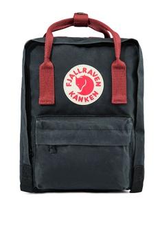 d848e156b6 Fjallraven Kanken black Black-Ox Red Kanken Mini Backpack FJ859AC73CSOSG 1