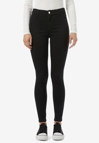 Dorothy Perkins black Organic Black Frankie Jeans 4C1FAAAFF90BC5GS_1