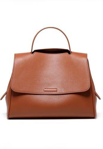 Twenty Eight Shoes brown VANSA Nappa Leather Hand Bag VBW-Hb10070 8793EACFBBC6B5GS_1
