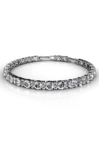 Krystal Couture 金色 KRYSTAL COUTURE Sirius Brilliance Tennis Bracelet Embellished with Swarovski crystals DD5BFAC6BEDF5DGS_1
