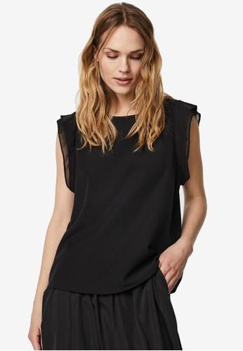Vero Moda black O-Neck Sleeveless Top C01CEAA8D316AFGS_1