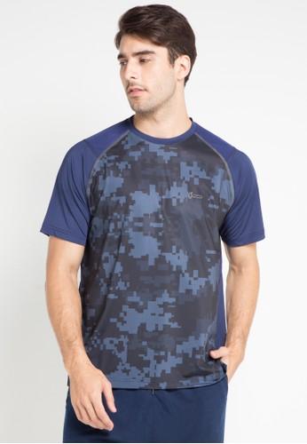 Hammer blue T-Shirt Active HA763AA0VFRLID_1