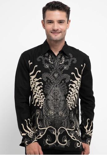 Batik First black and multi Shirt SLIM Long Sleeve 784CFAAEE89787GS_1