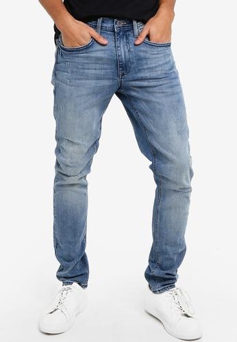 BLEND blue Jet Slim fit Low Waist Jeans 2349EAAF7927D3GS_1