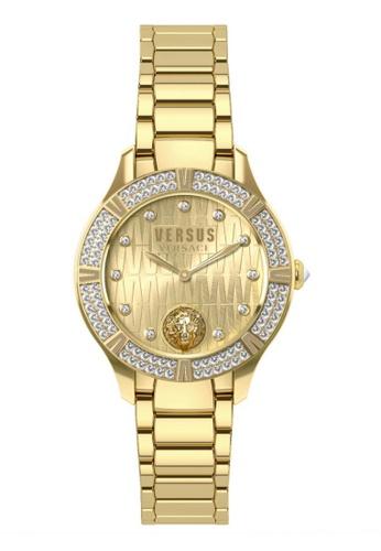 Versus gold Canton Road VES26050017 IP Yellow Gold Bracelet Ladies Watch VE464AC0RJ46MY_1