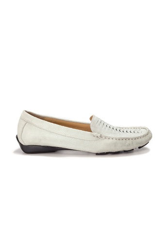 Shu Talk white AMAZTEP Hollywood Celeb Hot Slip On Comfortable Driving Loafer Shoes(for Narrow Feet) F5997SH62FC156GS_1