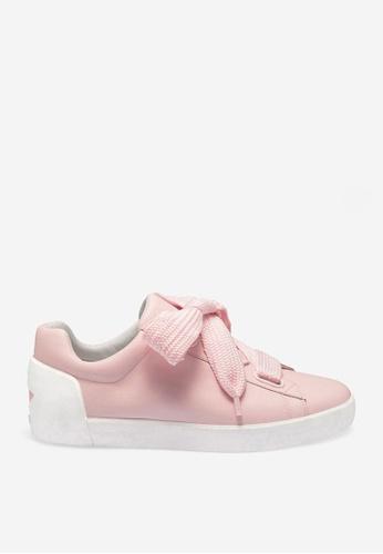 ASH 粉紅色 Nina - 粉紅色星形元素運動鞋 A161FSHA497660GS_1