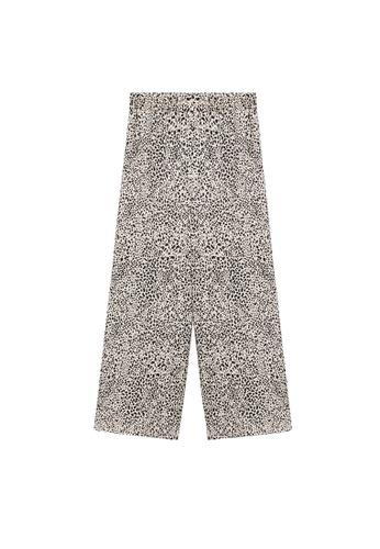 MANGO KIDS beige Fluid Culotte Trousers 1332FKAC6B8B81GS_1