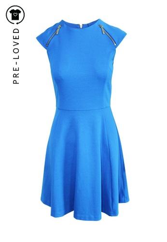 Michael Michael Kors blue Pre-Loved michael michael kors Blue A-Line Dress DCDA2AA75BED00GS_1