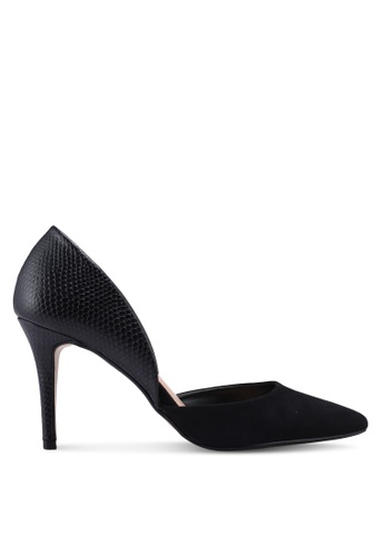 Dorothy Perkins 黑色 尖頭高跟鞋 A2453SH18174ABGS_1