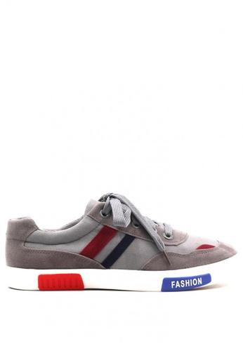 New York Sneakers grey Brantz Low Cut Shoes E3FAFSHAAC36EFGS_1