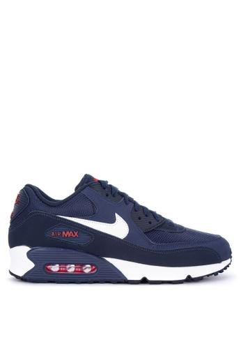 Nike blue Men's Nike Air Max '90 Essential Shoes 15E87SHC56C147GS_1