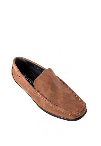 Otto brown Slip On Loafers 13FB4SHC0DB81EGS_1