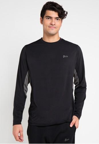 Hammer black and multi T Shirt Active HA763AA0VFRNID_1
