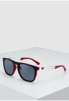1796a97e5243 Emporio Armani red Emporio Armani EA4114F Sunglasses 893B0GLC1DE277GS 1