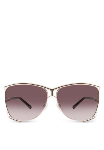 Venus 金屬鏤空大esprit 折扣框太陽眼鏡, 飾品配件, 飾品配件