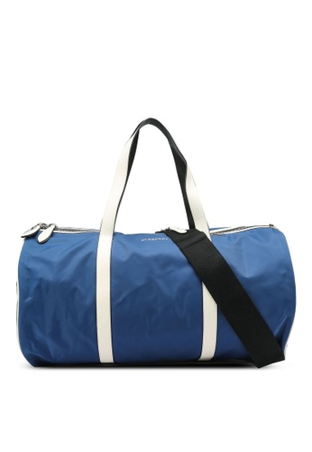 Burberry blue Two Toned Duffle Bag (oc) F9B58AC2FEDFFEGS_1