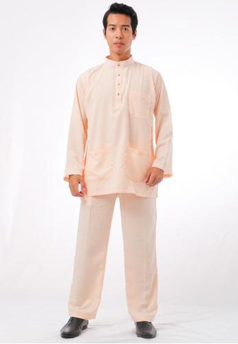 KAMDAR yellow Shafi Baju Melayu 08129AAFA4D3A6GS_1