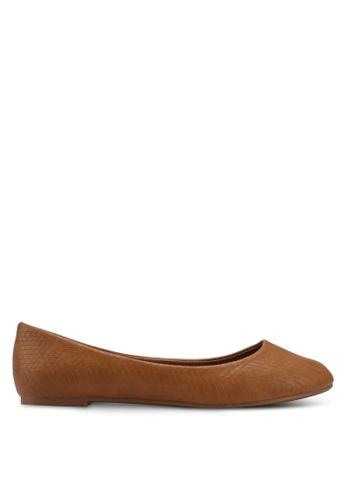 Rubi brown Britt Ballet Flats F0490SHB16AE9CGS_1