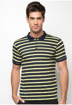 Fabian Stripe Polo Shirt