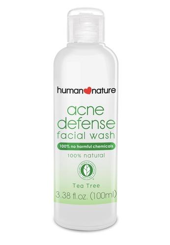 Human Nature white 100Ml Acne Defense Facial Wash 5AB77BEF391CA6GS_1