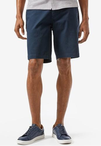 Burton Menswear London navy Navy Chino Shorts 0E564AAC98B331GS_1