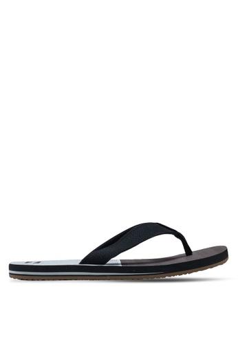 Billabong black Fifty 50 Sandals 42A67SHE209055GS_1