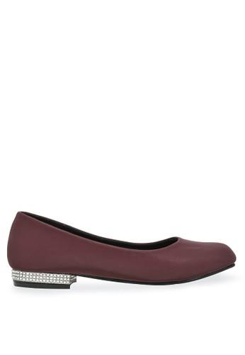 Urban Looks red Urban Looks - Irene Maroon Flatshoes 86695SH47FF6FEGS_1