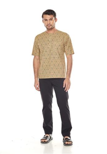 TUSCA green Adiwangsa Batik Shirt 8AFFCAAAB6585BGS_1