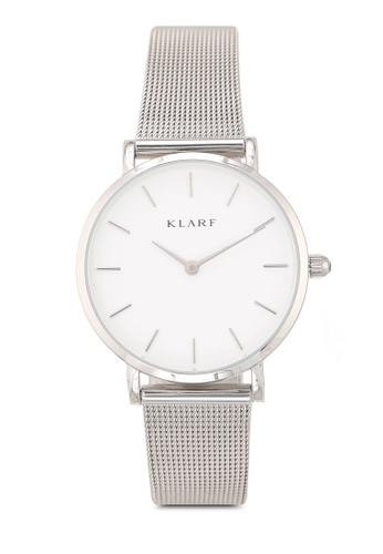 Klarf silver Petite Watch With Mesh Bracelet 890ABACB4234BCGS_1