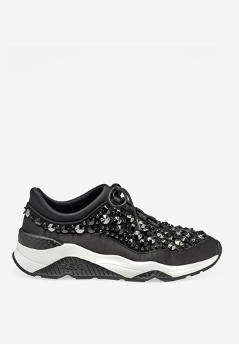 ASH black ASH Muse Beads Sneakers - Black B50CASHB03BD53GS_1