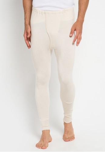 Gunze Innerwear beige PCM202 Longjohn Bottom 51EBCAA7CC04D7GS_1
