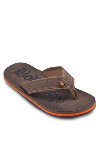 品牌夾腳拖鞋esprit bag, 鞋, 鞋