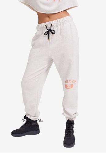 P.E Nation grey Trailblazer Track Pants 509A7AAE1A22C5GS_1