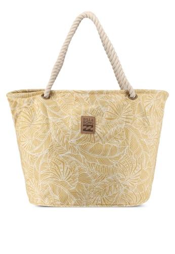 Billabong gold Livin Easy Market Bag AE448AC3209200GS_1