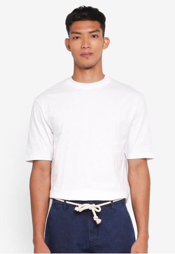 Only & Sons white Donnie Oversized Tee C050DAA264D9A2GS_1