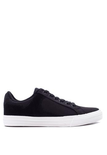 SONNIX black Trooper  Q217 Lace Up Sneaker Shoes SO490SH05WBAPH_1