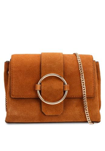 0606417b680 Shop MANGO Ring Leather Bag Online on ZALORA Philippines
